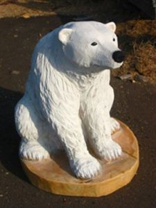 Now this little polar bear is adorable. Though its eyes seem a little sad. Of course, I'm not sure how it would handle climate change with the ice caps melting.