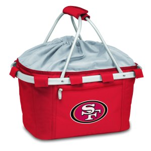 It's also said to be collapsible and insulated. So this is no ordinary picnic basket. But one with all the perks of a lunchbox and/or cooler.