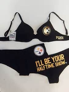 Sure an NFL team themed bra and underwear set might be quite weird if you get my drift. However, I take more an affront with the words,