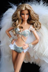 I'm sure this Barbie Doll was definitely not made for children. And I'm positive she's wearing an outfit no woman would actually wear. Yes, I don't understand either.