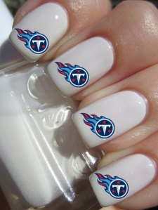 Also, kind of funny how Cover Girl has a feature on NFL nail designs. As if I really give a shit about what my nails look like when watching a football game (not).