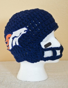 It might keep you warm during the winter. But it won't protect you from a concussion. Still, a very clever design.