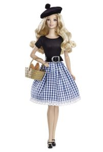 Of course, French Barbie wouldn't be French without her beret and baguette. Then again, she might also like to have a laid back European lifestyle the French are famous for.