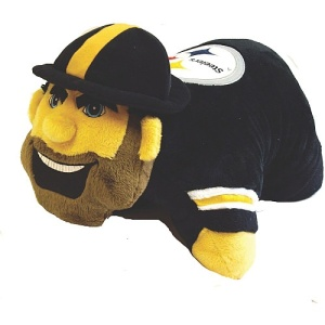 Yes, they make them for all teams. However, Steely McBeam isn't well loved by Steelers fans since he's terrifying as hell. So let me say just kill it, kill it with fire.