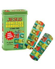 Of course, Jesus tended to heal the sick without using these. However, that doesn't mean you shouldn't buy these. And yes, they're utterly ridiculous as hell. But that's beside the point.