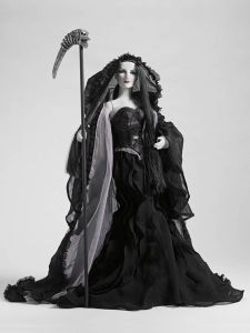 She may look dark but she's never good or evil. Do not resist her when she comes to collect you because you can't.