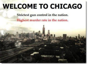 Opponents of gun control love to point out how Chicago has a very bad problem with violence despite its tight gun laws. However, little do they know that Chicago's gun problems have more to do with its laws being at city level, lack of stronger national gun laws, and geography. Besides, it was later found out that most firearms involved in Chicago gun crimes were legally bought in Indiana.