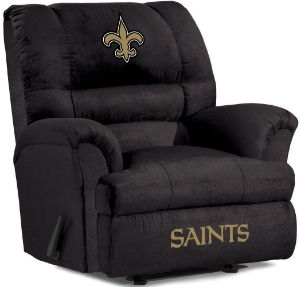 Of course, there are some people who might want their team logo on an easy chair. But this doesn't mean they should be in a living room. More like someone's entertainment center or man cave.