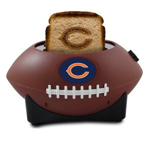 Yeah, having a NFL branded toast from a football toaster for breakfast. Seems more like an expensive novelty item that I don't need.