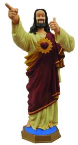 Yes, Buddy Christ is certainly a classic religious kitsch item, indeed. He's also among the most amusing as well. Yeah, I can't help but like this one.
