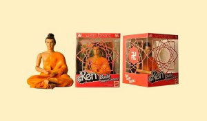 Apparently, Ken may seem enlightened but he also seems a bit too European for Buddha. Also, the man bun looks very atrocious on him.