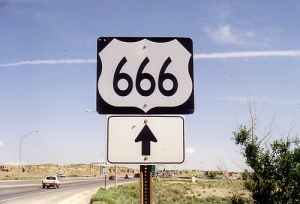 In New Mexico, the aptly named US Highway 666 has had a reputation for accidents and fatalities. Though some people blame it on paranormal road rage, experts think the rate had more to do with inadequate design for traffic loads at the time.