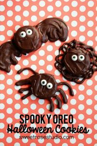 Now these consist of a bat, octopus, and spider. All of which are covered in chocolate. Still more adorable than scary.