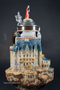 Not sure if this is Neuschwanstein Castle or some other fairy tale palaces. Still, can't imagine drinking out of that thing.