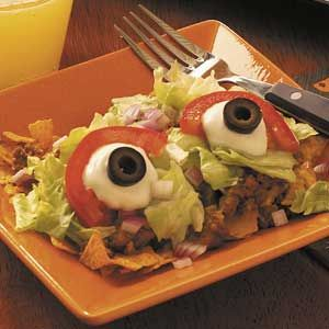 Hope two is enough for you? Still, it might look like your salad is staring at you for awhile. It might seem creepy to some.