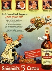 Of course, this ad does shed life on witches like flying their broom under the influence and having people throw pumpkins at them. Of course, you never hear of either on Harry Potter.