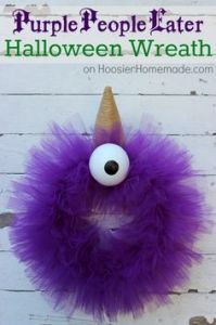 Now this seems quite simple. But it doesn't seem too scary either. More like a purple cyclops on Sesame Street. Love the horn though.