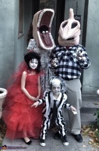 Now this is so funny. Not very familiar with Beetlejuice for some reason. But it's Tim Burton, so I'll go with it.