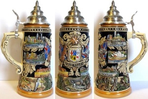 Of course, I'm not sure why Australia would want to have a stein for this country. Then again, Germany and Australia are known to be big beer drinking countries.