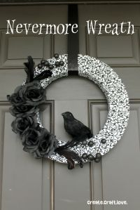 Yes, bird is supposed to be a raven despite looking rather small. Still, love the black flowers on this though.