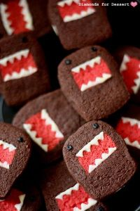 And yes, they're literally brownie bites. Just look at their monstrous jobs. Still, more adorable than scary.