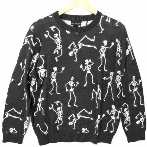 Guess these skeletons really do give bones about break dancing. Hope nobody breaks anything.
