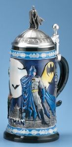 Of course, it would be interesting to know how Batman would celebrate his Ocktoberfest. I mean it's seen as a happy fun time. Batman isn't known for his cheerfulness.