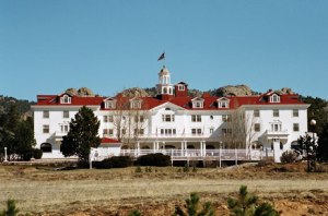 Estes Park's Stanley Hotel has a reputation for its haunts that it served as an inspiration for Stephen King's The Shining. Of course, I'm sure King's stay at the hotel didn't lead him to lose his mind and attack his family. But the guy does have a warped imagination.