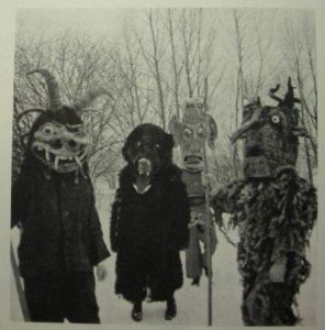 Okay, these costumes are quite horrifying to say the least. Wouldn't want to take a walk in that forest if you ask me.