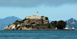 "While Hollywood is home to the most famous movie stars, Alcatraz Island was home to some of the most notorious criminals during its time as a federal prison. Noted inmates include Al Capone, Robert Stroud (known as ""Birdman of Alcatraz""), James ""Whitey"" Bulger, George ""Machine Gun"" Kelly, Mickey Cohen, and Alvin ""Creepy"" Karpis. It's alleges their spirits haunt the place."