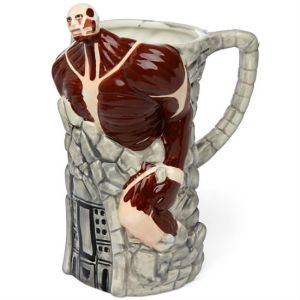 Now this is so creepy, especially since the monster has absolutely no skin. Just seems like he's all muscle. Maybe I think you might want to stick with the beer stein depicting Frankenstein.