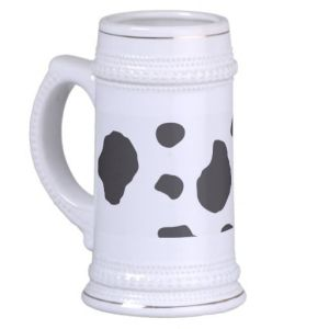 Now this looks quite tacky. Then again, I view all animal prints that way. Still, wouldn't want to be caught dead drinking from that.