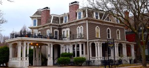 The Forepaugh Mansion was home to a successful dry goods businessman in St. Paul. However, he's said to have an affair with a maid who later committed suicide. Forepaugh and his family didn't live in there long soon after that.