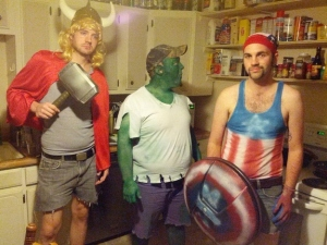 Basically, these would be the Avengers if Marvel studios wasn't making big budget movies. Also, if Thor, the Hulk, and Captain America weren't as hot and didn't have Ironman to pay for their gear and collateral damage.