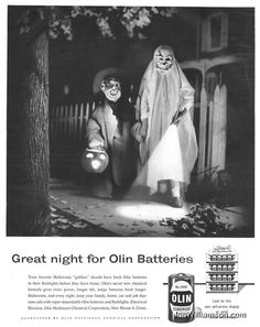 However, they also allow trick or treaters' costumes to appear more visible at night. Sometimes scaring the hell out of the neighbors.