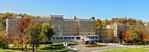 French Lick Springs Hotel was originally built for those who came to experience the healing benefits of the area's sulfur springs. Today it's now part of a casino resort complex. Of course, before then, it tended to get in trouble with the state for illegal gambling operations.