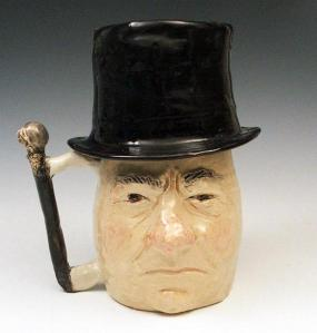 For some reason, this stein kind of reminds me of Sir Patrick Stewart. You know Professor X and Captain Picard. Not sure why.