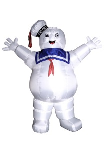 Yes, let all be doomed before his marshmallowy wake. You don't want to mess with the Stay Puft Marshmallow Man. Got to love this.