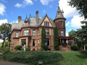 Henderson Castle was originally owned by one of the most successful businessmen in Kalamazoo. It's now a bed and breakfast with a restaurant and spa.