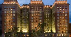 The Skirvin Hotel is said to be the oldest in Oklahoma City and has paid host to Harry Truman and various NBA teams. Said to be home of a rather promiscuous female ghost.