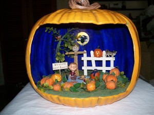 Seriously, Linus should just wait for the Great Pumpkin after trick or treating. But you know, he never seems to give up hope that the Great Pumpkin would show up someday. Yeah, it's ridiculous.