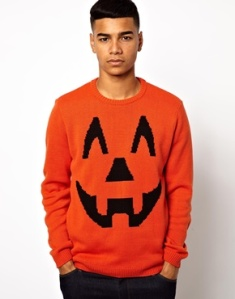 Luckily for him, he can wear this to a Halloween party and everyone would assume it's his costume. Still, pretty tacky if you get my drift.