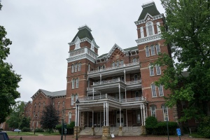 Before it was called The Ridges, this was the Athens Lunatic Asylum which had an infamous reputation as a mental institution. And its real history is even scarier than the ghosts said to haunt there. It's now a part of Ohio University.