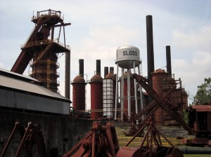Originally built to promote railroad development, Birmingham's Sloss Furnaces was one of the biggest producers of pig iron in the country during its operation. Since OSHA regulations didn't exist at the time, it was a dangerous workplace. So it's reputation as a haunt isn't so surprising.