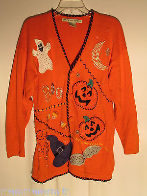 The Horrifically Ghastly World of Ugly Halloween Sweaters | The ...