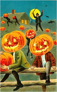 """Goddamn, kids, how dare you steal my pumpkins! I'll make you pay for this!"""