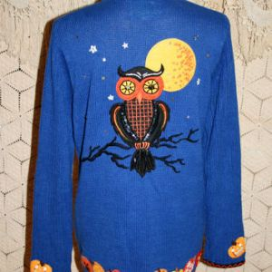 Now that looks like an owl you can see from a mile. Still, its feathers have sequins and it's gleaming with starry eyes.