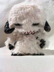 From what I can recall, the Wampa is a ferocious creature on Hoth. And it doesn't look nearly as adorable as this little plushie you want to cuddle with.