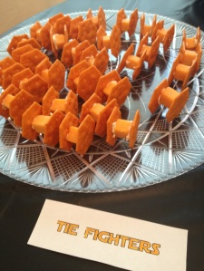 Now these cheddar Imperial fighters might make great appetizers. And they're fairly easy to make, too.