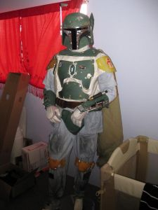 Now this was a DIY costume but looks almost like the real thing. Well, minus the jetpack at least.